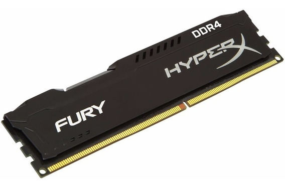 Memória 8gb 2400mhz Ddr4 Hyperx Fury Kingston