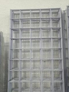 Reja Malla De Alambre De Exhibir De 2 M X 50 Cm .