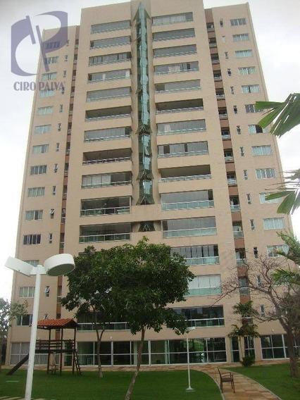 Apartamento Com 3 Dormitórios Para Alugar, 132 M² Por R$ 2.600/mês - Cambeba - Fortaleza/ce - Ap1263