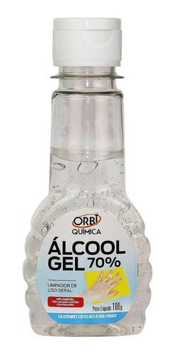 Alcool Em Gel Para Assepsia Das Maos 70 % / Bolso Anvisa