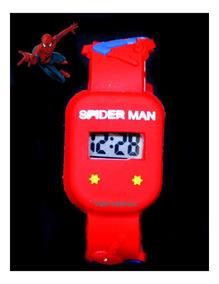 Relógio Homem Aranha Quadrado Antialérgico Prova D