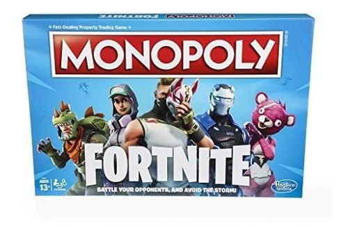 Monopolio: Fortnite Edición Juego De Mesa Inspirado En Jue