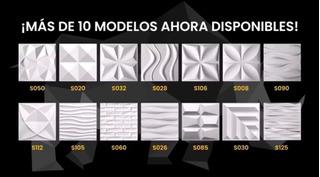 Paneles Decorativos 3d De Pvc (20 Piezas Cubre 5mt2)