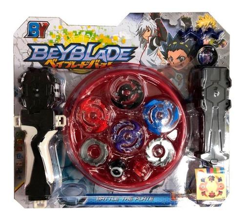 Beyblade Burst Con Lanzador Barato Trompo Estadio