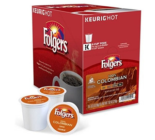 Folgers Gourmet Selections Lively Colombian Coffee Kcups