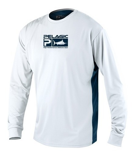 1015181002 Playera Proteccion Solar Aquatek Pro Bco Pelagic