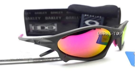 Oculos Oakley Penny X Xmetal Lente Rosa Pink + Lente Extra
