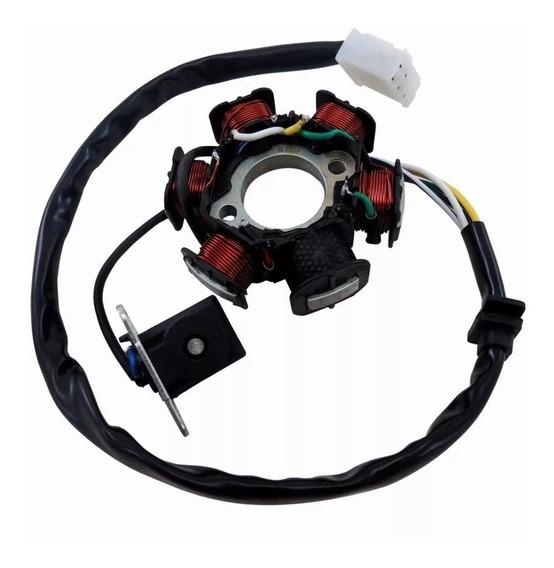 Estator Xy 50 Xy 50q Smart 6 Bobinas Partida Elétrica - Mhx