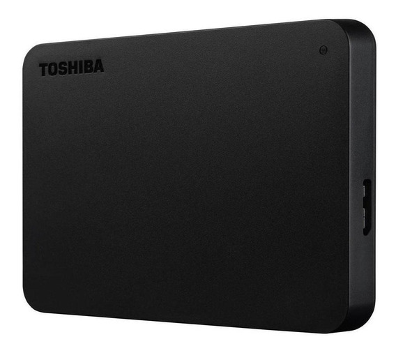 Hd Externo Portátil Toshiba Canvio Basics 2tb Hdtb420xk3aa Usb 3.0 - Preto