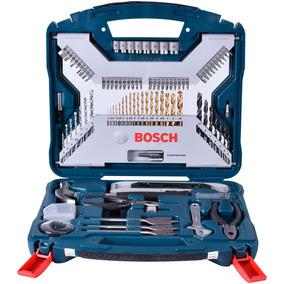 Jogo De Ferramentas, Brocas E Bits X-line Bosch 103 Peças