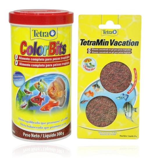 Ração Tetra Colorbits Granules 300g