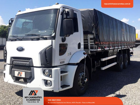 Caminhão Ford Cargo 2423 6x2 Carroceria Graneleiro