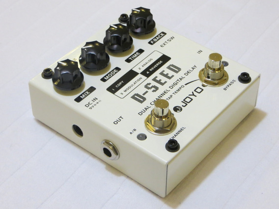 Pedal Guitarra Joyo D-seed Dual Channel Delay Tap Tempo