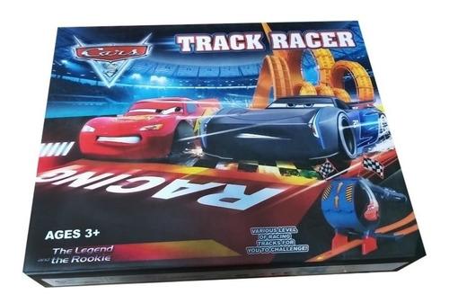 Cars Pista Set Parkin Racing Rayo Mcqueen Import Ajd