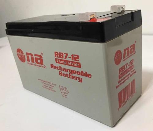 Batería O Pila 12v 7 Ah Amp, Multi-proposito, Ups, Cerco.