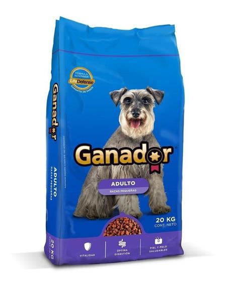 Ganador Alimento Perro Razas Pequeñas Bulto 20 Kg