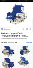 Cama Bariatrica Hill-rom Total Care