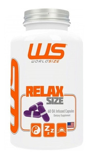 Relax Size 60 Caps - Worldsize
