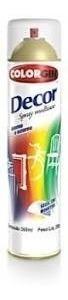 Tinta Verniz Spray Uso Geral 360ml Decor - Colorgin!!!