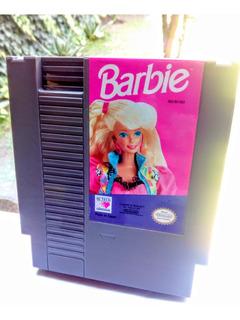 Juego Muñeca Barbie Nintendo Nes