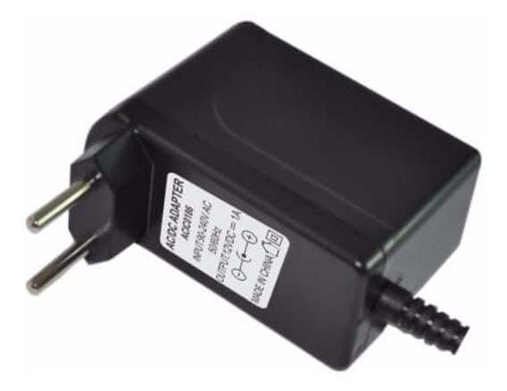Fonte Chaveada 12vdc 1a Plug 2.1mm Unitel 1343