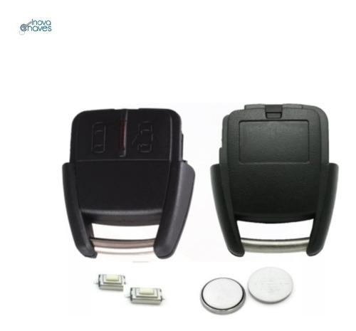 Imagem 1 de 4 de Capa Chave Corsa Astra Zafira C/ Bateria E Botões