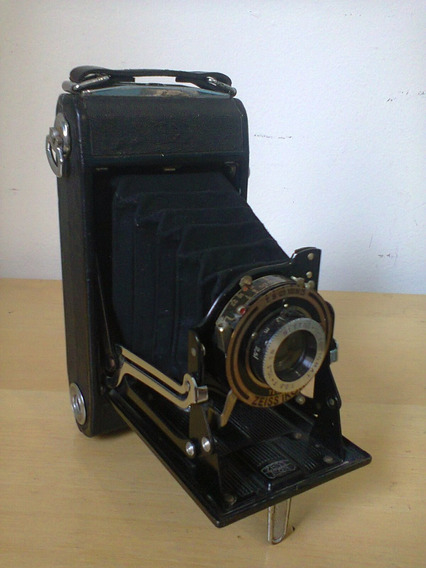 Máquina Camera Fotografica Zeiss Ikon De Fôle.
