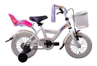 Bicicleta Slp Cathy Bmx Rodado 12 Niña Porta Muñeca Canasto