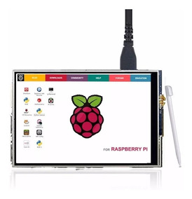 Display Lcd 3.5 Touch Screen Para Raspberry Pi 3 Pi3