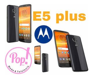 Moto E5 Plus 4+64gb Dual Sim+ Protector Silicón De Regalo.