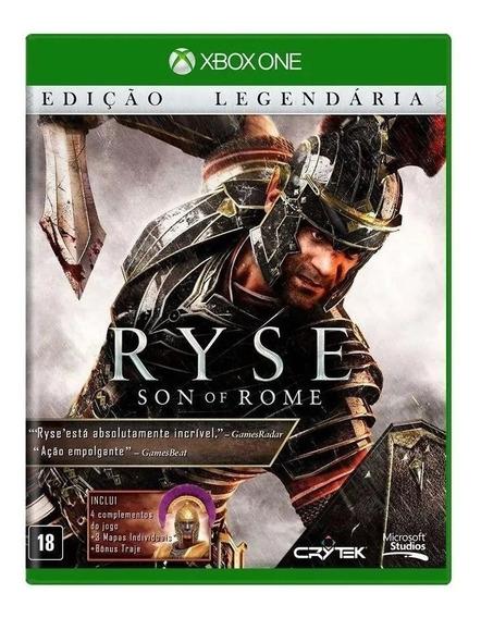 Ryse Son Of Rome Edição Legendária Xbox One Nacional Novo Rj