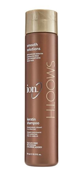 Shampoo Suavizante Con Keratina Sin Sal Ion Smooth 311ml