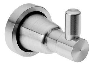 Gancho Perchero Lujo Aluminio Para Baño Alta Calidad Y Acabo
