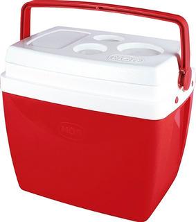 Caixa Térmica 26l Mor 25108172 - Vermelho