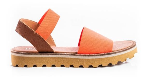 Sandalias Zapatos Mujer Plataformas Bajas Hiper Livianas