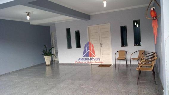 Sobrado Com 3 Dormitórios À Venda, 237 M² Por R$ 430.000,00 - Parque Novo Mundo - Americana/sp - So0047