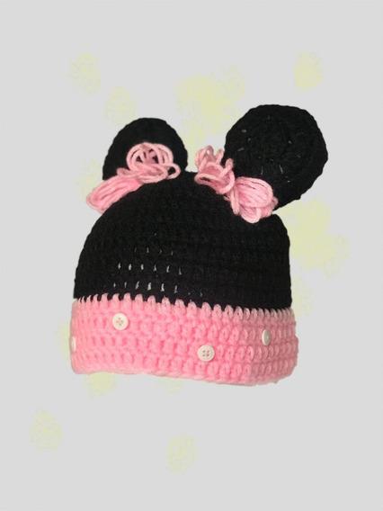 Gorro Minie En Crochet