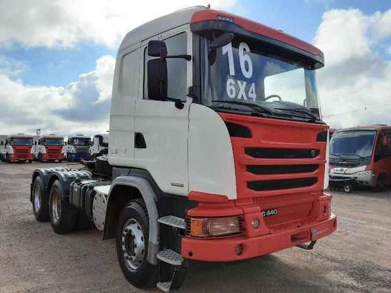 Scania G 440 6x4 2016/2016 Bug Pesado 373.830km