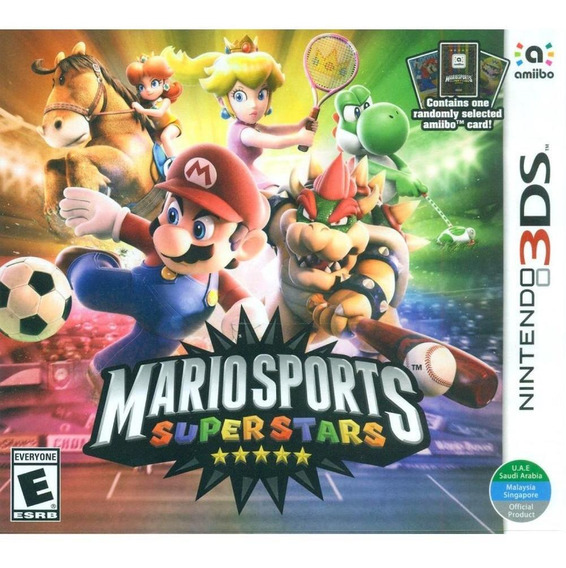 Mario Sports Superstars 3ds Mídia Física Novo Original