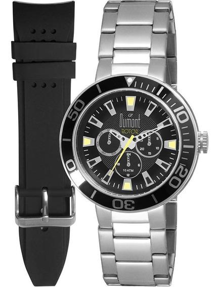 Relógio Masculino Dumont Analógico Casual Du6p29abw/3p