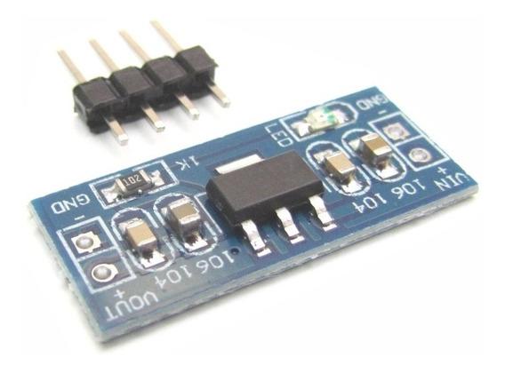 Módulo Regulador De Tensão 5v 1a Ams1117 5.0 Para Arduino
