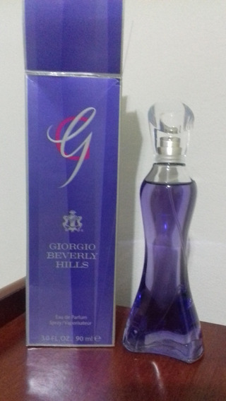 Perfume Giorgio Beverly Hills 90ml Edp Feminino Usado