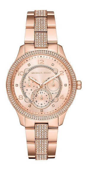 Relógio Michael Kors Feminino Mk6614 Rose Original