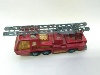 Toy Store: Carro Bomberos Matchbox 1972 Lesney K9 Fire Xmy