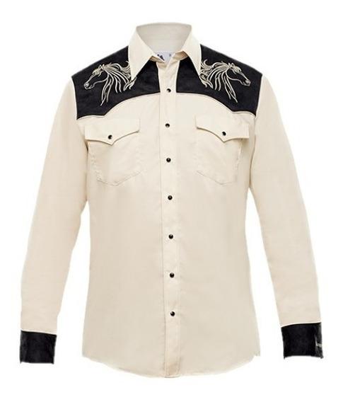 Camisa Vaquera Ranger´s Caballo 125ca01 Western Hombre