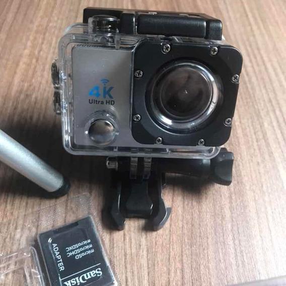 Ultra Câmera Action Go Pro Sports 4k Wifi