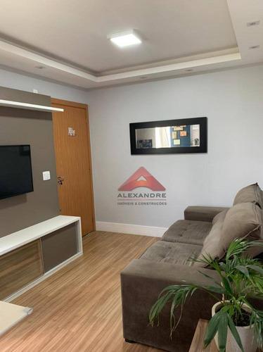 Imagem 1 de 7 de Apartamento Com 2 Dormitórios À Venda, 42 M² Por R$ 170.000,00 - Jardim Nova Michigan - São José Dos Campos/sp - Ap4110