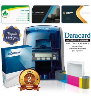 Impresora De Tarjetas Datacard Sd 160, Impresión Tinta Uv.