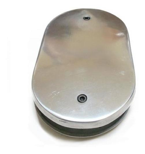 Base Oval Para Filtro De Ar Esportivo - Carburador Tldz - Rc