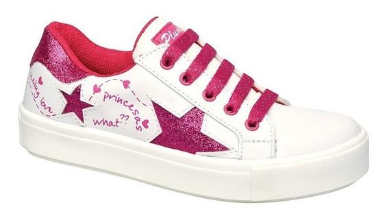Zapatillas Plumitas Acordonada Estrellas Para Niñas